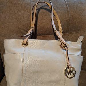Michael Kors Ivory Handbag